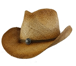 Big Size 3XL Raffia Straw Cowboy Hat